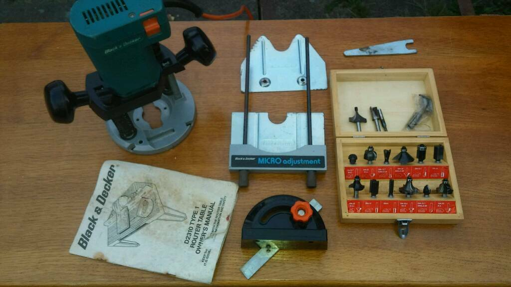 Black And Decker Router Manual