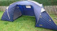 Cheap Halfords 4 man 2 room tent | in Sale, Manchester ...
