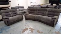 4 Seater Recliner Sofa Catera Reclining Four Seat ...