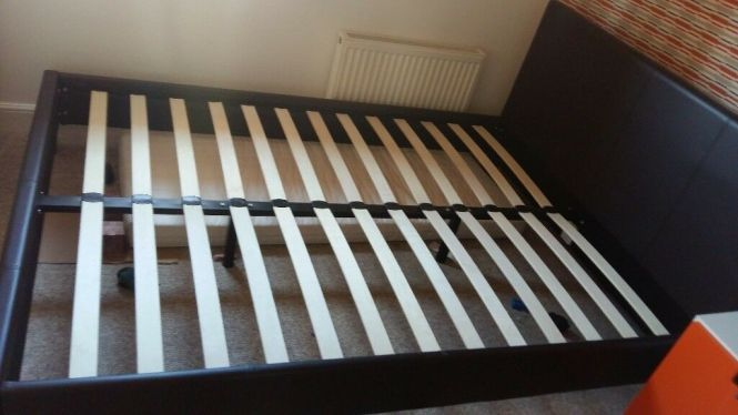 Double Bed And Mattress For 55