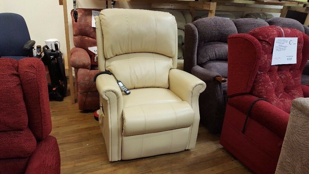hsl chair accessories single bed sleeper grande sized leather berwick dual motor riser recliner delivery available