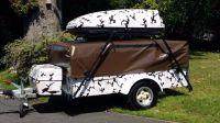 Dandy delta 4 birth folding camper trailer tent electric ...