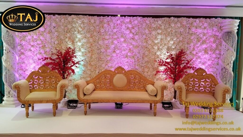 chair cover hire guildford for autistic child asian indian wedding mehndi stages backdrops decor covers lights flower wall in surrey gumtree