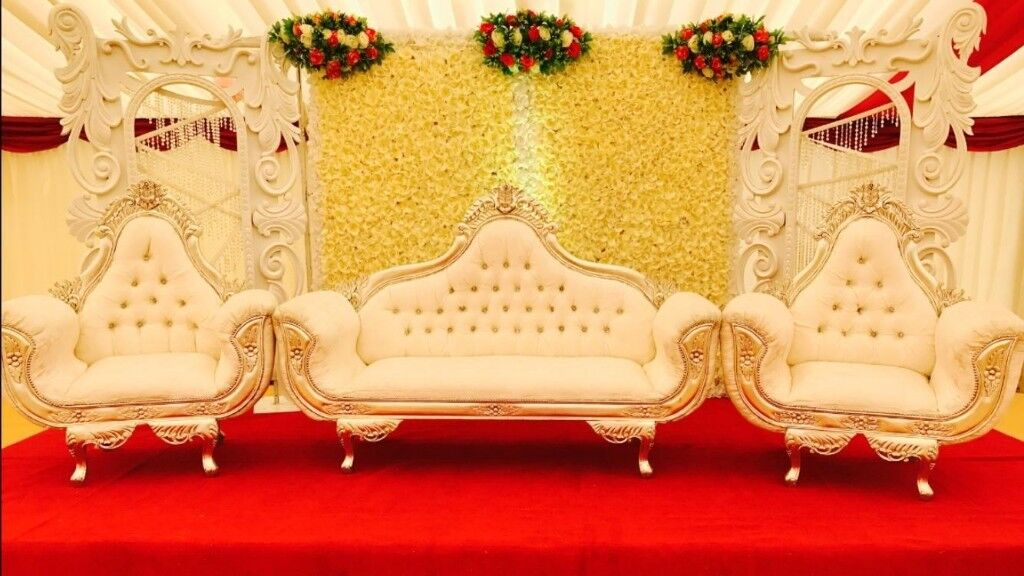 wedding chair cover hire brighton vintage wooden childs asian stage mendhi stages covers house lighting etc in northampton northamptonshire gumtree