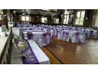 chair covers hire bolton glitter wedding in manchester other services gumtree 50p black white or ivory