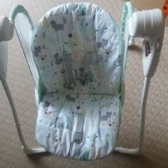Swing Chair Very Adirondack Pattern Graco Swinging Good Condition In Tavistock Devon