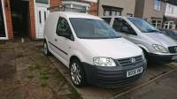 Vw Caddy c20 2.0 sdi 142k rear seats alloys roof rack | in ...