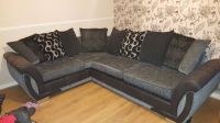 Corner sofa, cuddle chair and footstool   in Norwich ...