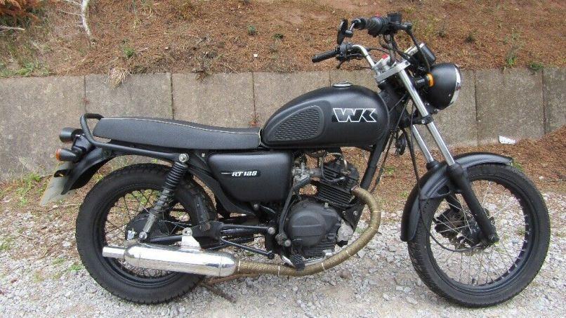Wk Cafe Racer 125cc Motorbike Lovely