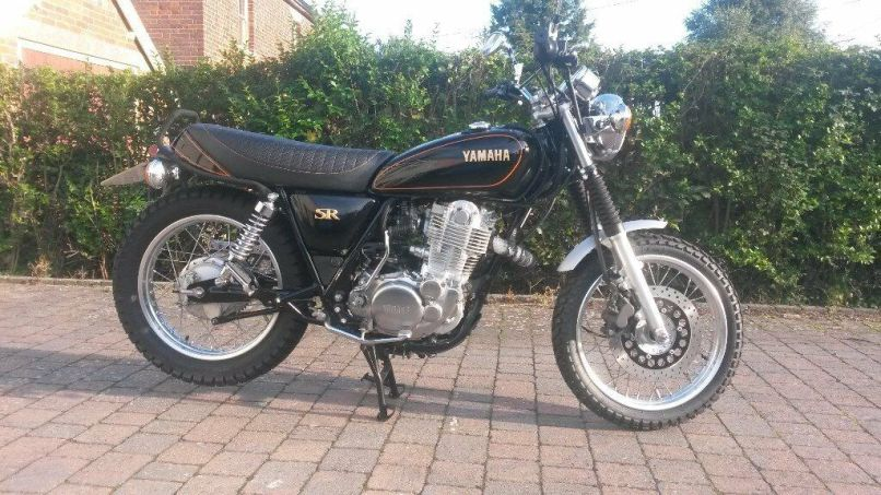 Yamaha Sr400 Retro Scrambler Make Over 2017 65 Immaculate Poss