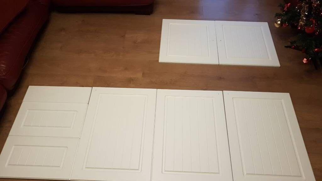 BampQ Chilton White Country Style Kitchen Doors In