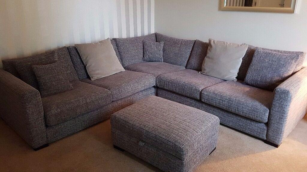large chaise sofa dfs deep sofas comfortable uk dillon corner unit in liverpool merseyside gumtree