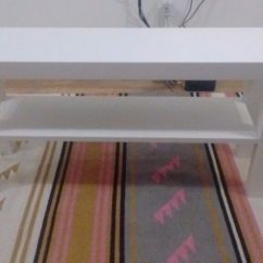 Lack Sofa Table As Desk Memory Foam Mattress For Bed New Ikea Coffee Tv Bench Also Possible Shoe Rack In White