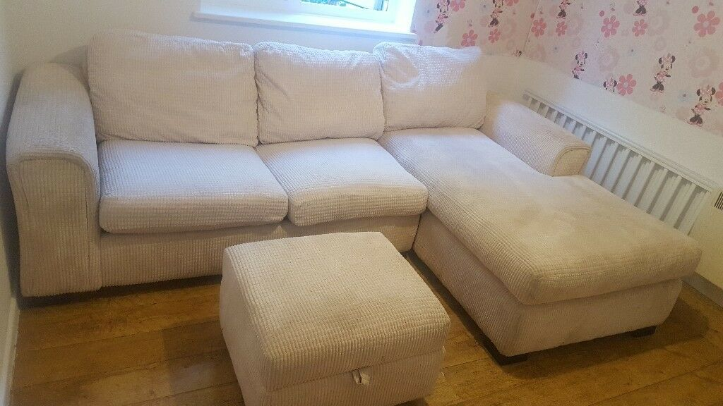 dfs recliner sofa bed sectional sleeper corner and footstool | in milton keynes ...