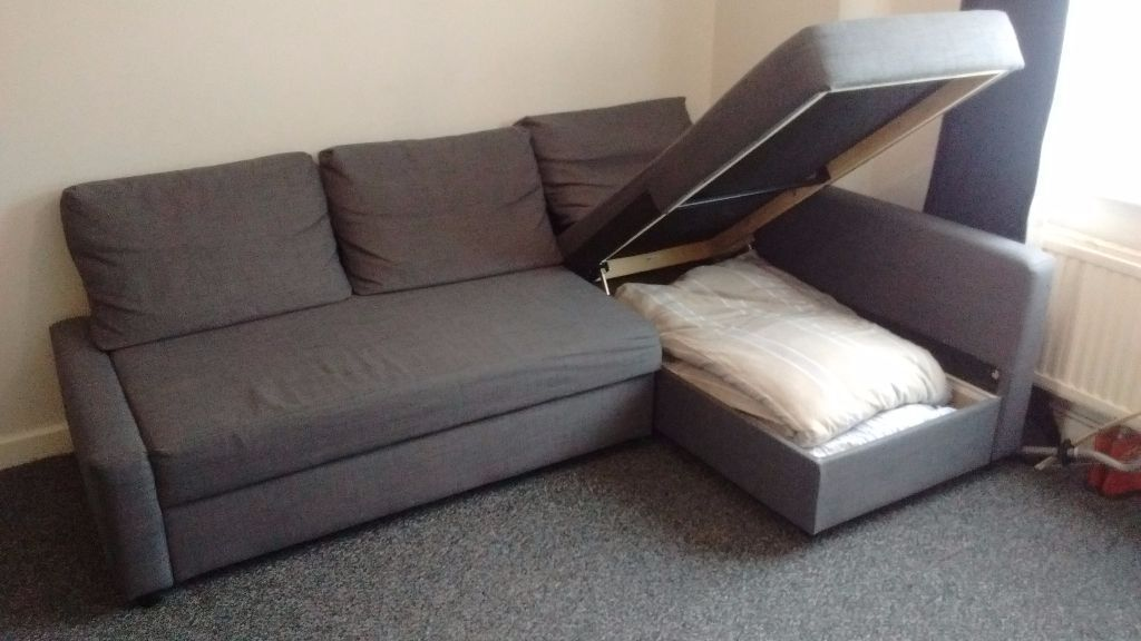 sofa beds on gumtree how to upholster a seat cushion friheten ikea corner sofa-bed with storage | in oxford ...