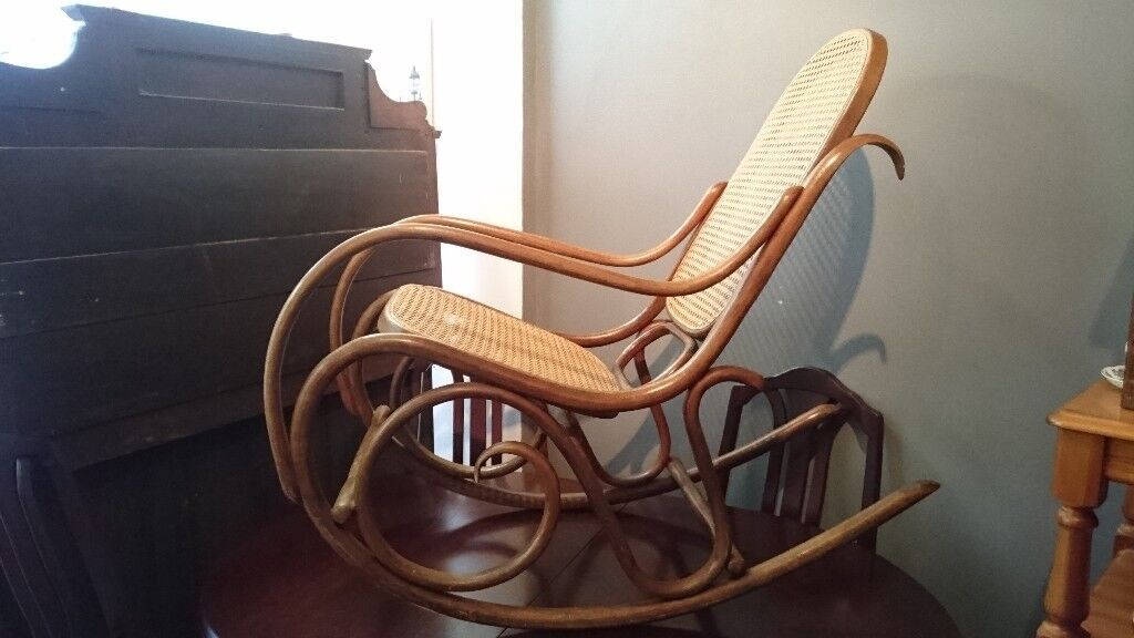 1920s rocking chair chicco hook on high original mazowia 1920 s bentwood in cheadle