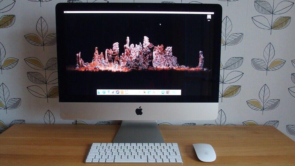 Apple iMac Purchased 2019 (2017 Model) 4K Retina 21.5 inch Applecare Till Jan 2021 Boxed Pristine | in Ely. Cambridgeshire | Gumtree