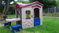 SOLD - Little Tikes Picnic on the patio playhouse/Wendy ...