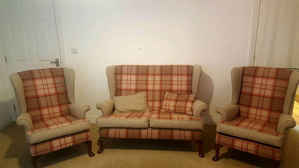 traditional armchairs for living room modern valances parker knoll sofa and 2 in glastonbury