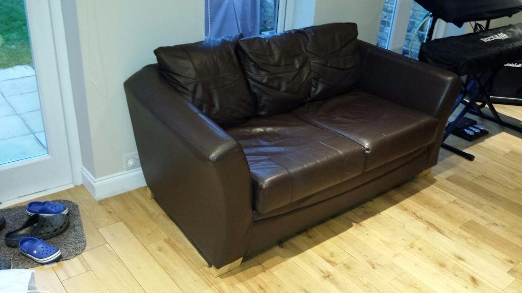 cheap corner sofa beds dublin london dark brown top grain leather reclining and loveseat homebase chocolate bed   www.gradschoolfairs.com