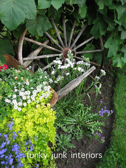 10 Garden Junk Art Ideas To Jazz Up Your Yard EBay