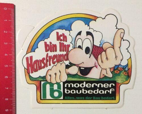 Aufkleber/Sticker: Moderner Baubedarf - Ich Bin Ihr Hausfreund (030516179)