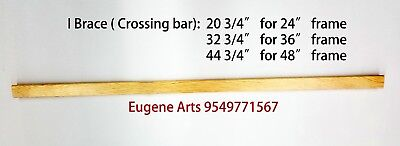 """Pair of  Canvas Stretcher Bars Strips 6 ,8,10,12,14,16,18,20,24,30,36,48,60,72"""" 8"""