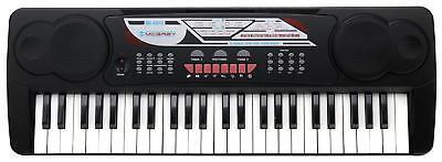 Digital 49 Tasten Einsteiger Keyboard E-Piano Klavier 16 Sounds 10 Rhythmen Mic