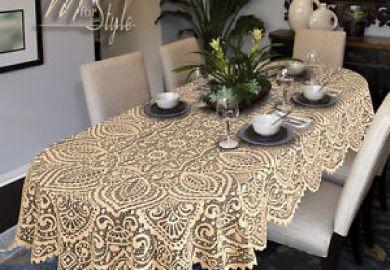 Christmas Tablecloths Oval Table