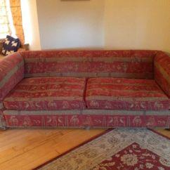 Chesterfield Sofa Bed Grey Velvet Round Sleeper Duresta Maximus Egyptian Tapestry 4 Seater | In ...