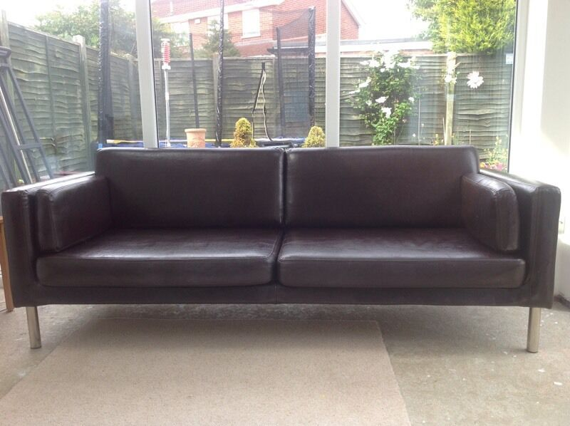 ikea sater sofa uk how to throw blanket on dark brown leather couch in york north yorkshire