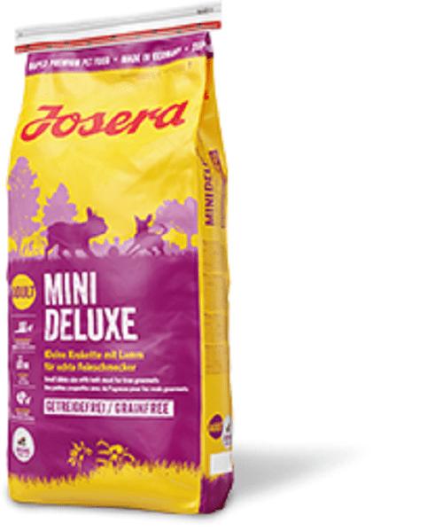 Josera Mini Deluxe | 15kg Hundefutter trocken für kleine Feinschmecker