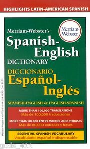 English To Spanish Dictionary Ebay