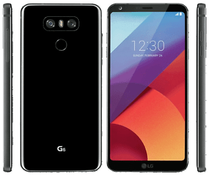 New Imported LG G6 Duos Dual 32GB 4GB Dual Rear 13MP+13MP Cam Primary 5MP Black