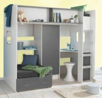 Fantastic high Sleeper bed with lots of storage (Wardrobe ...