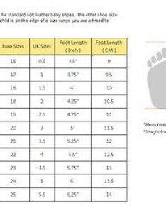 Size chart for baby shoes paketsusudomba co also shoe sizing babies erkalnathandedecker rh