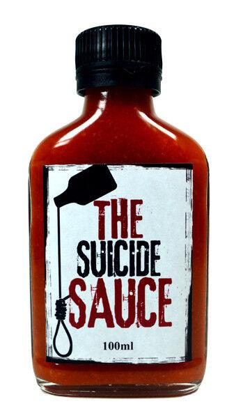 Suicide Sauces - The Suicide Sauce XXX Hot Sauce Carolina Reaper Scorpion Chili