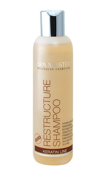 Keratin Shampoo Haarshampoo ohne Silikone Parabene Sulfat trockenes Haar