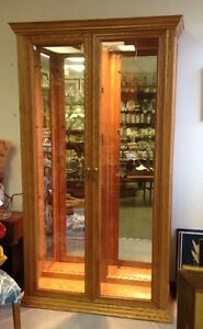 Oak Cabinet | Buy or Sell Hutchs & Display Cabinets in ...