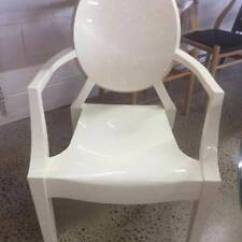 Ghost Chair Replica Bathroom Vanity Chairs With Wheels Louis Philippe Starck Cream Dining