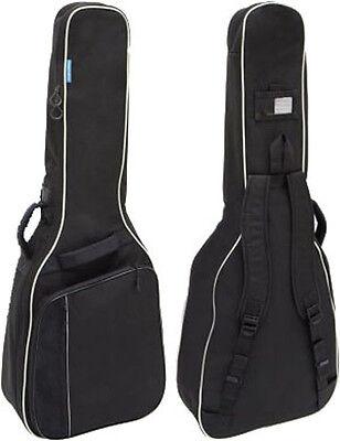 Gitarrentasche Gigbag schwarz für Westerngitarre mit 12 mm Schaumstoffpolsterung