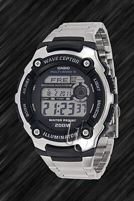 Casio Wave Ceptor FUNKUHR, WV-200DE, Weltzeit, Illuminator, Sportuhr,20 bar WADI
