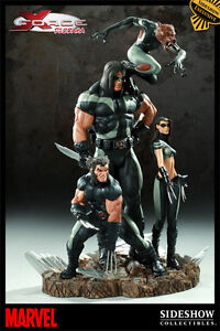 Sideshow Exclusive Version x Force Diorama Statue