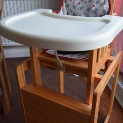 High Chair Converts To Table And Wooden Outdoor Obaby Into In Durham