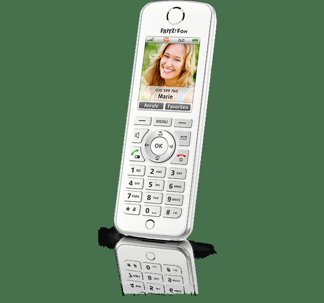 AVM FRITZ Fon C4 VoIP-Telefon Schnurloses Telefon ( DECT ) HD-Qualität