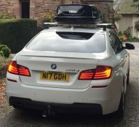 Thule Wingbar Roof Bars (BMW 5 Series F10 Saloon) | in ...
