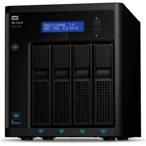 WD My Cloud EX4100 NAS System 4-Bay (4x0TB) Leergehäuse WDBWZE0000NBK-EESN