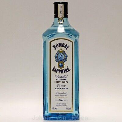 Bombay Sapphire London Dry Gin 1 L Englischer Gin 40%vol