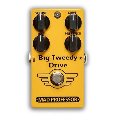 Mad Professor Big Tweedy vintage overdrive pedal