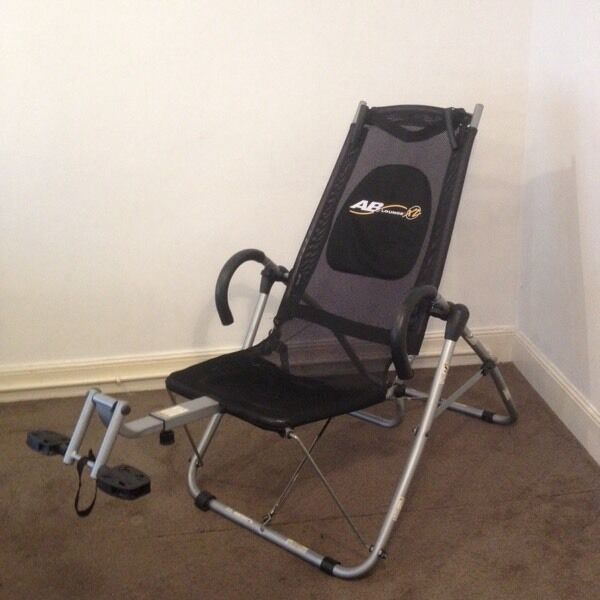 gym chair as seen on tv outside tables and chairs tesco ab lounge xl exercise for sale in whitehaven cumbria